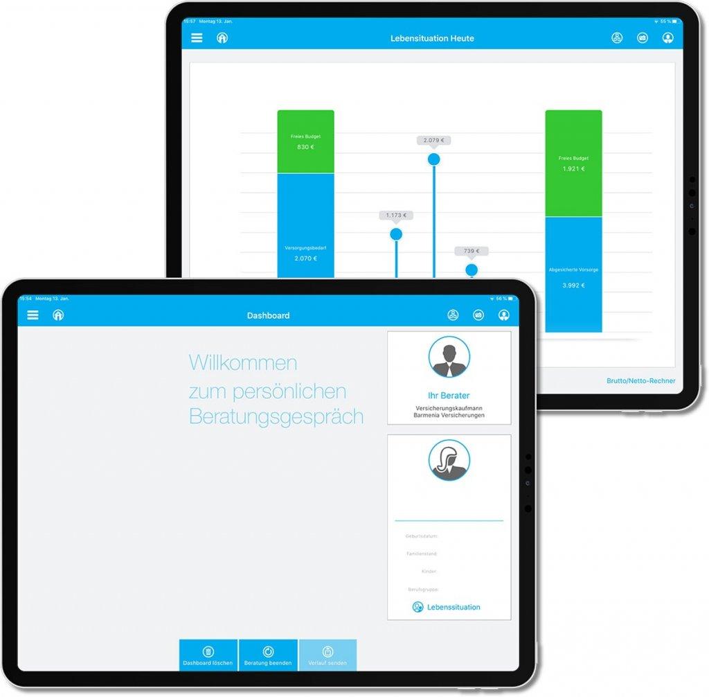Barmenia LebensChecker App
