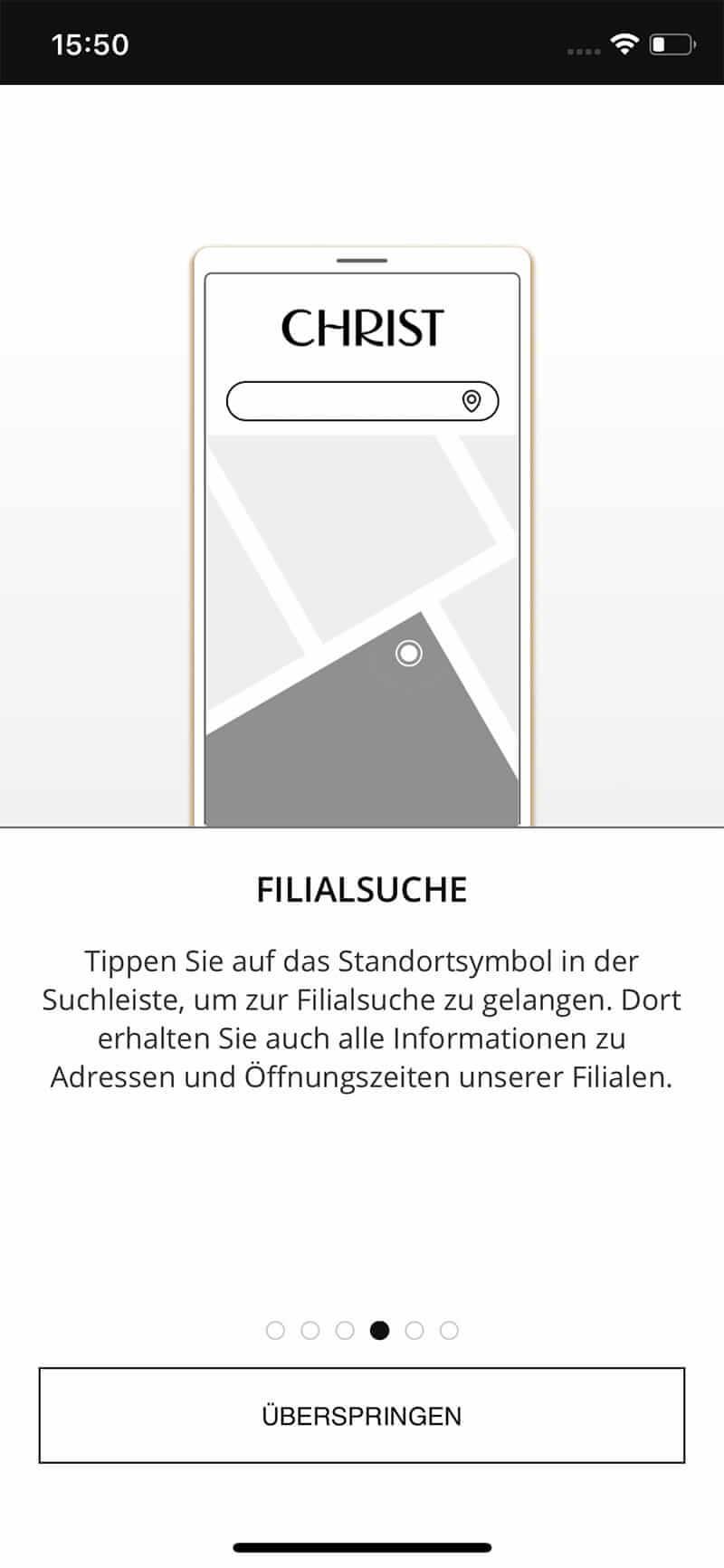 Christ-App_Filialsuche