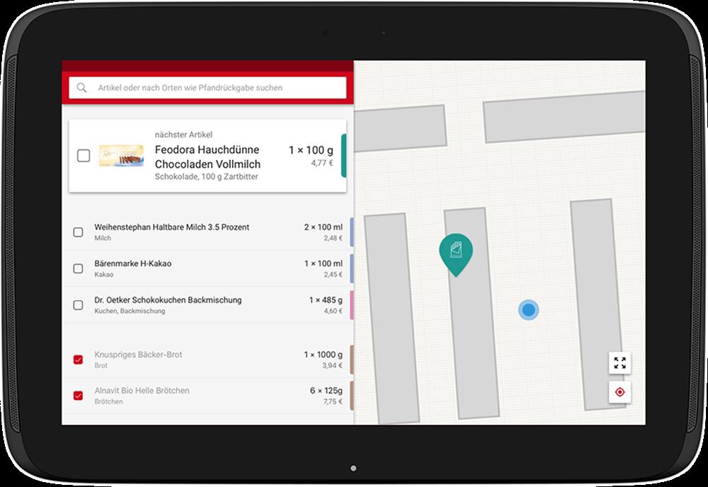 Screenshot zu J.D. Geck GmbH – Smart Shopping