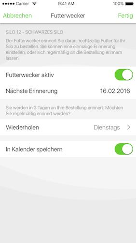 Screenshot zu AGRAVIS Raiffeisen AG - IQ-Feed
