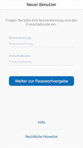Screenshot zu Augsburger Aktienbank - SecureApp