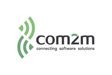 Logo com2m – externer Link