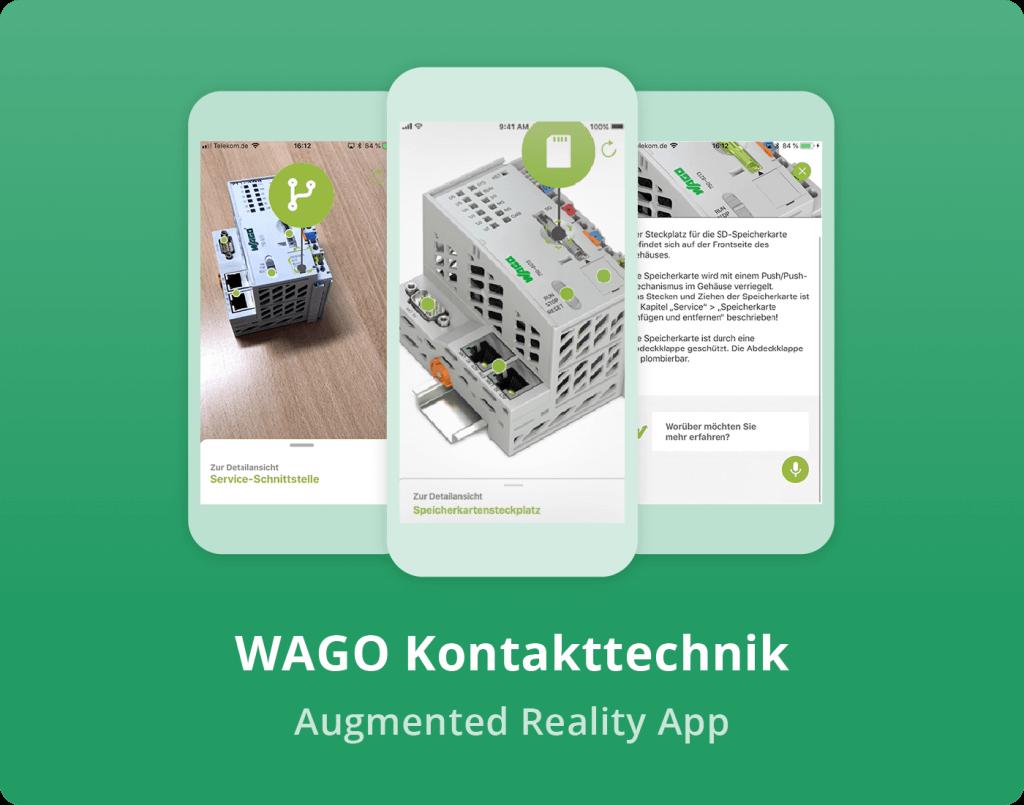 """Vorschaubild der WAGO Kontakttechnik """"Augmented Reality"""" App"""