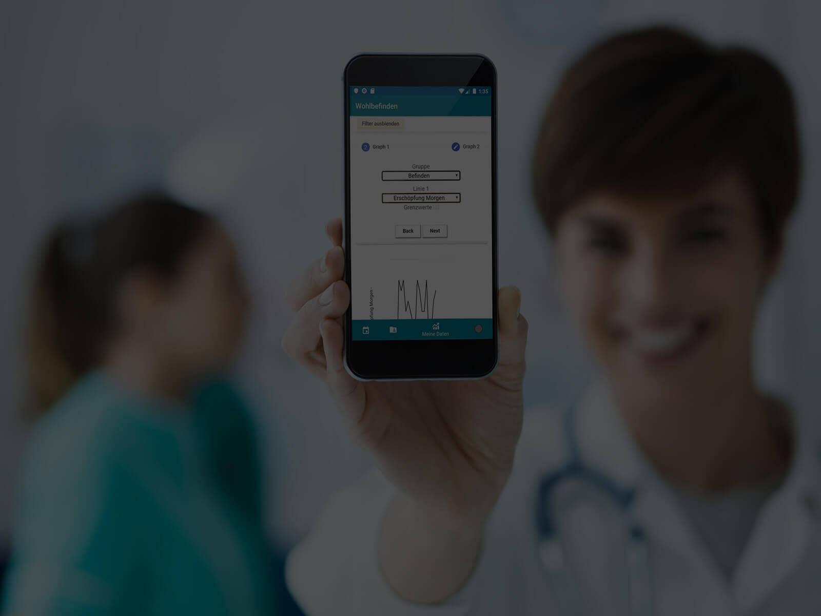 adesso mobile solutions Studie zu therapiebegleitenden Apps