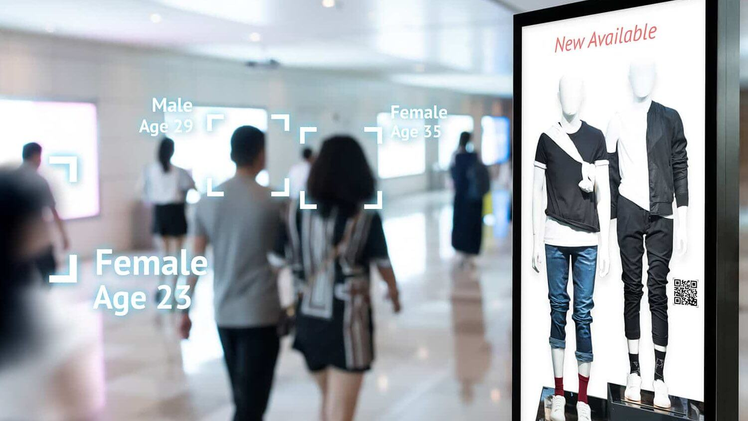 Mobile Retail Digital Signage