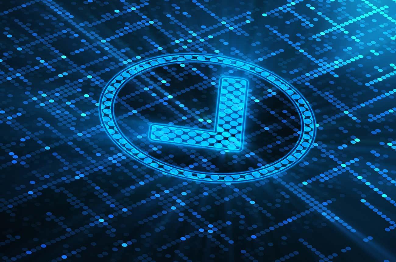 Digitaler Haken symbolisiert im Rahmen des Mobile Qualitätsmanagements