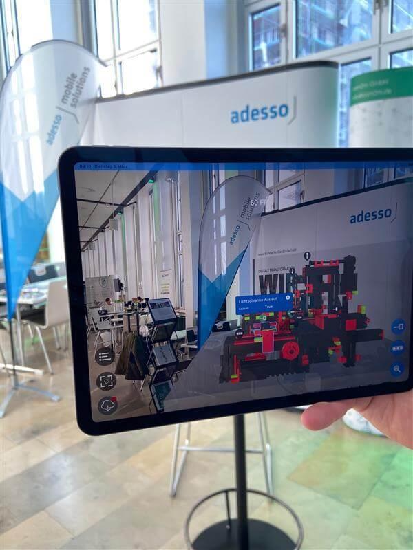 AR- und VR_Showcase für Fischertechnik